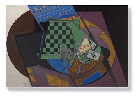 Хуан Грис - Шахматна дъска