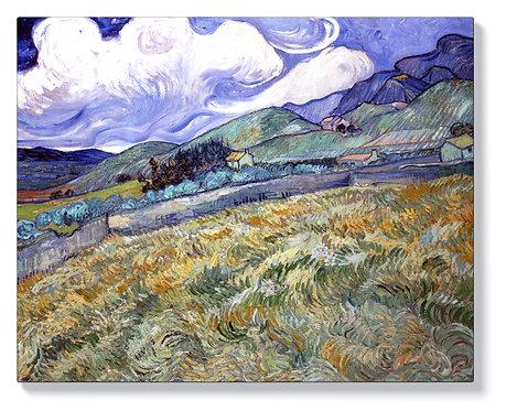 Ван Гог - Пейзаж от Сент Реми