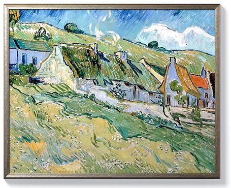 Van Gogh - Cottages - Silver.jpg
