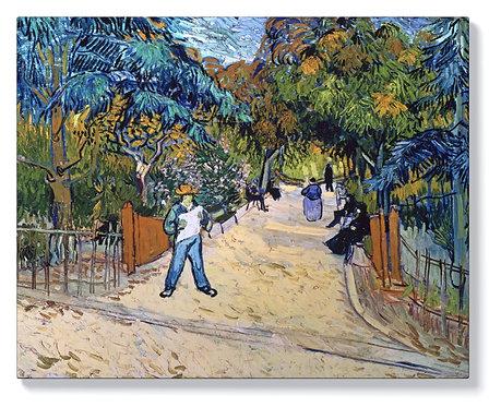 Ван Гог - Входът към обществената градина в Арл