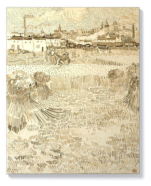 Винсент ван Гог - Гледка от житното поле