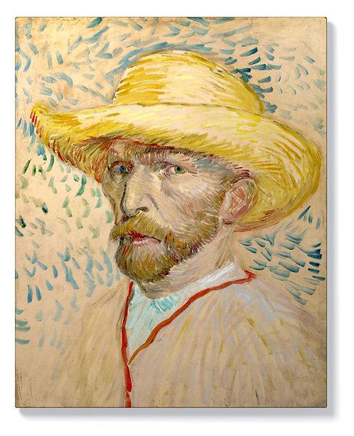 Ван Гог - Автопортрет в розово