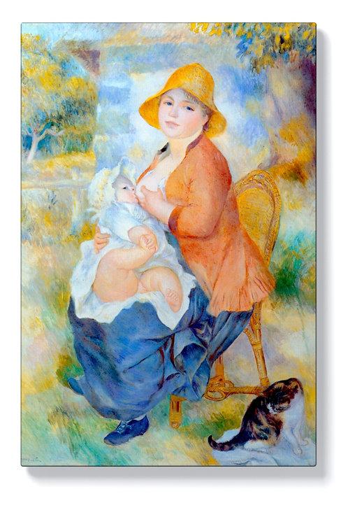 Реноар - Майка с дете