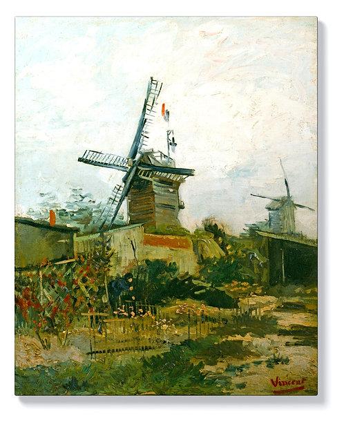 Ван Гог - Вятърната мелница на Монмартър