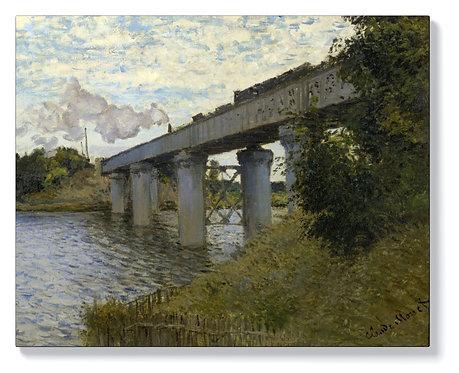 Моне - Железопътен мост в Аржантьой