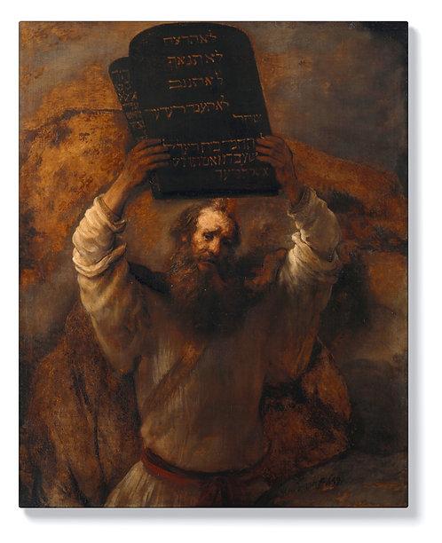 Рембранд - Мойсей с Десетте Божи заповеди