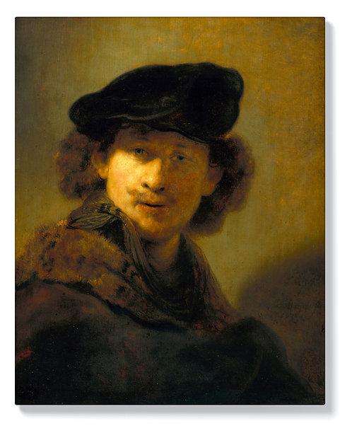Рембранд - Автопортрет с кадифена барета