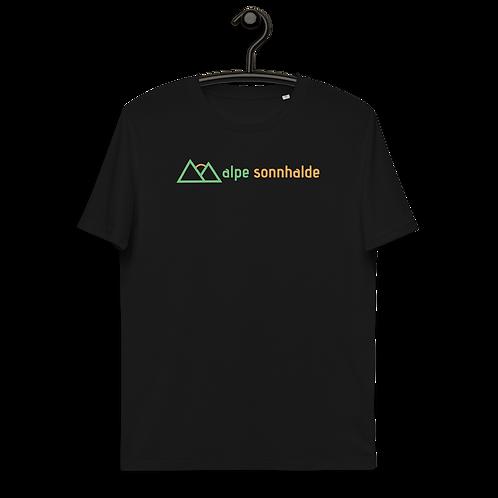 Premium Bio T-Shirt, Schwarz, Vorderansicht