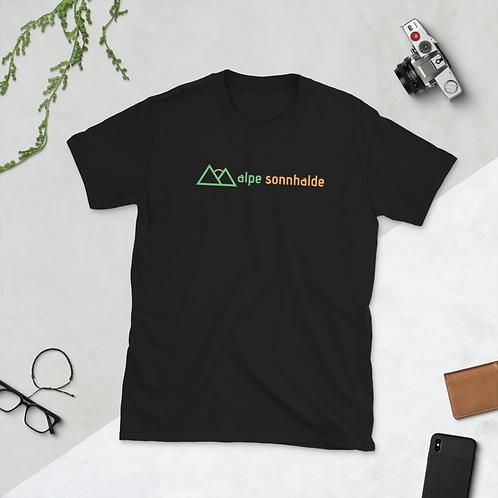 T-Shirt, Schwarz, Vorderansicht