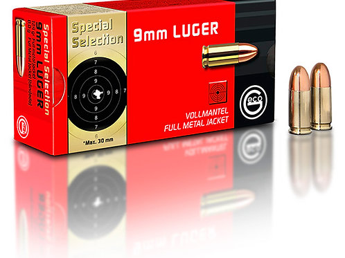 Geco 9 mm special selection ( x 50)