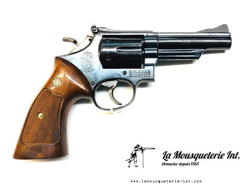 """smith et wesson 19 canon 4"""" cal 357Mag"""