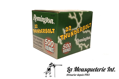 500 Cartouches 22lr Remingtom Thunderbolt