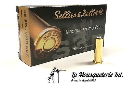 Sellier & Bellot 38 Wadcutter 146grs