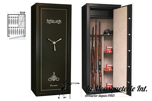 Armoire forte 18 armes Infac Executive