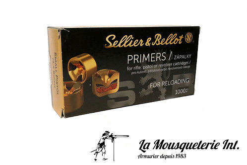 1000 Amorces Sellier bellot Small Pistol