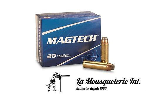 20 Cartouches 500 S&W Magtech 325grs demi blindées