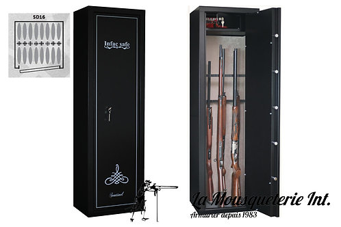 Armoire forte 16 armes Infac Sentinel