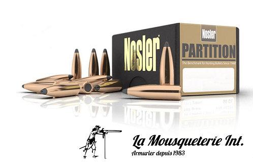 50 Ogives Nosler Partition .30 150grs Spitzer