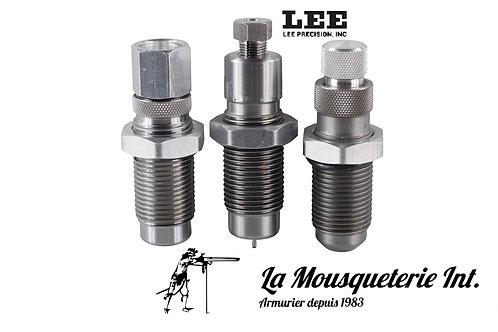 Jeu 3 Outils Lee Calibre Standard (9mm, 45acp, 222rem...)
