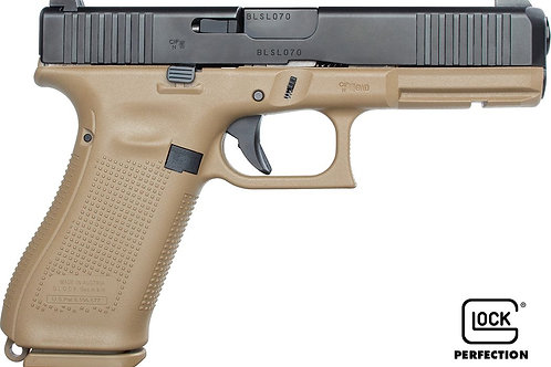 Pistolet Glock 17 Gen5 FR Coyote armée française