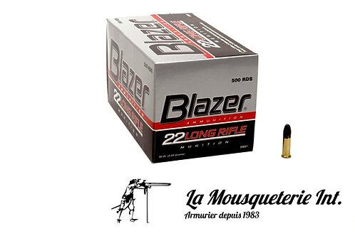 500 Cartouches CCI Blazer 22lr