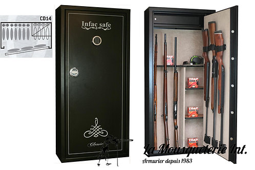 Armoire forte 14 armes Infac Classic