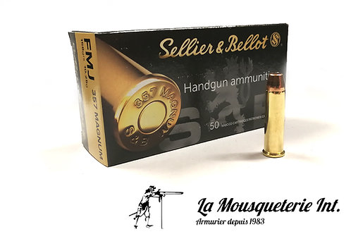 Sellier & Bellot 357 Magnum 158grs FMJ