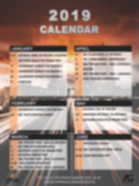 2019 Calander Front Page (Updated 1-17-1