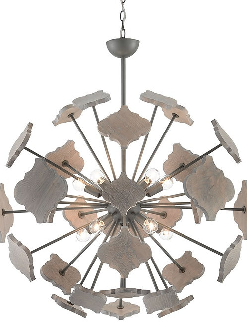 Currey and Company Ogee Orb Chandelier