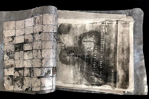 Marilde Stropp (Brasil). De la serie Tiempo Cuando. Libro de Artista .   781 USD