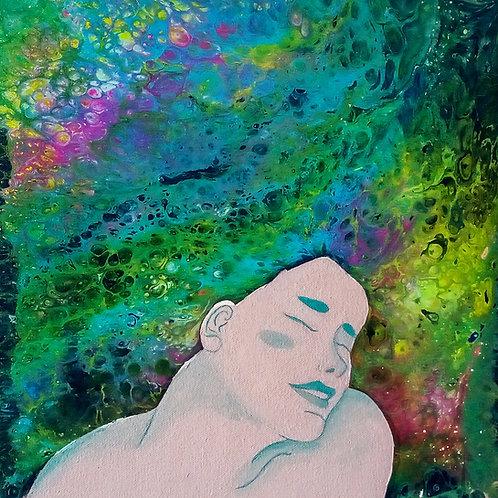 """Daniela Rangel (Colombia) . """"Satisfacción"""".   Pintura.          145 USD cada una"""