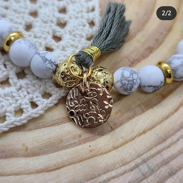 Zodiac Bracelet Workshop with Autumn Simeays (1 Workshop)