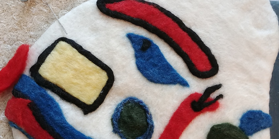 Creating Surface Texture and Design in Felt with Anna Armitage - 1 Workshop