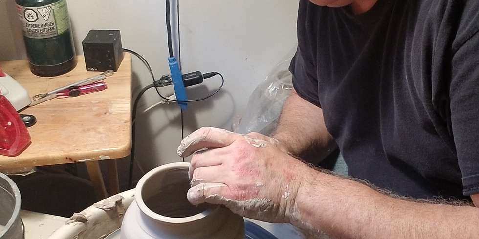 Advanced Pottery Wheel With Chris Snedden (8 Weeks)