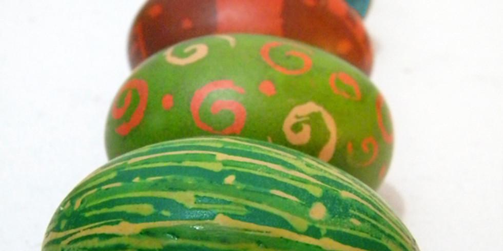 Ukrainian Egg Workshop with Phyllis Zapandinsky (1 Workshop)