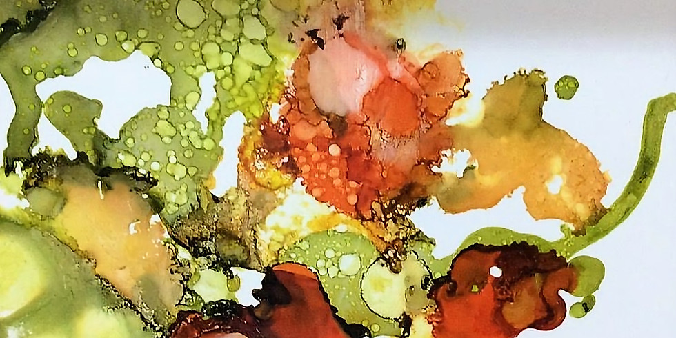 Alcohol Inks with Marion R. Anderson (1 Workshop)