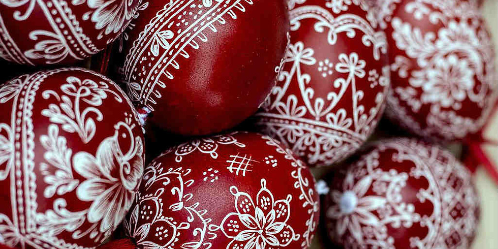 Ukrainian Egg Workshop Christmas EDITION with Phyllis Zapandinsky (1 Workshop)