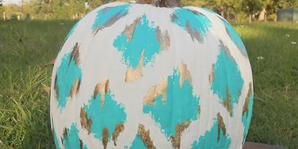 Pumpkin Painting Workshop with Kayla Agro/Tabitha Verbuyst