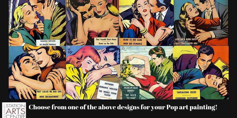 Pop Art Painting with Paul Belcher (1)