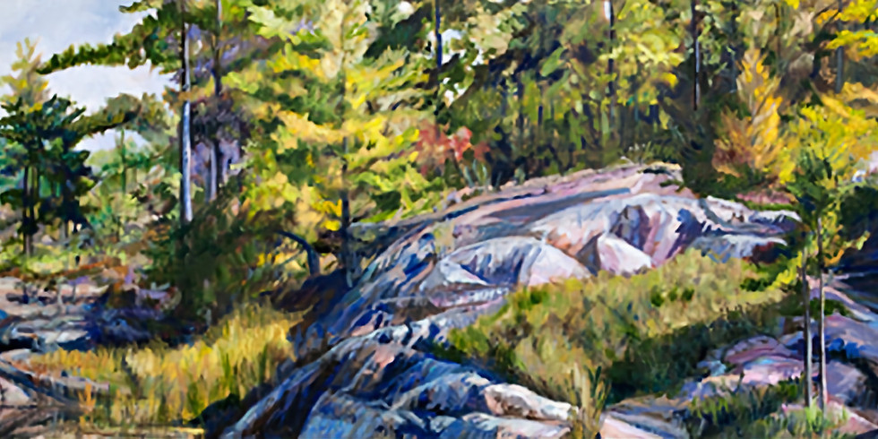 Landscape Painting with Cathy Groulx - 2 workshops