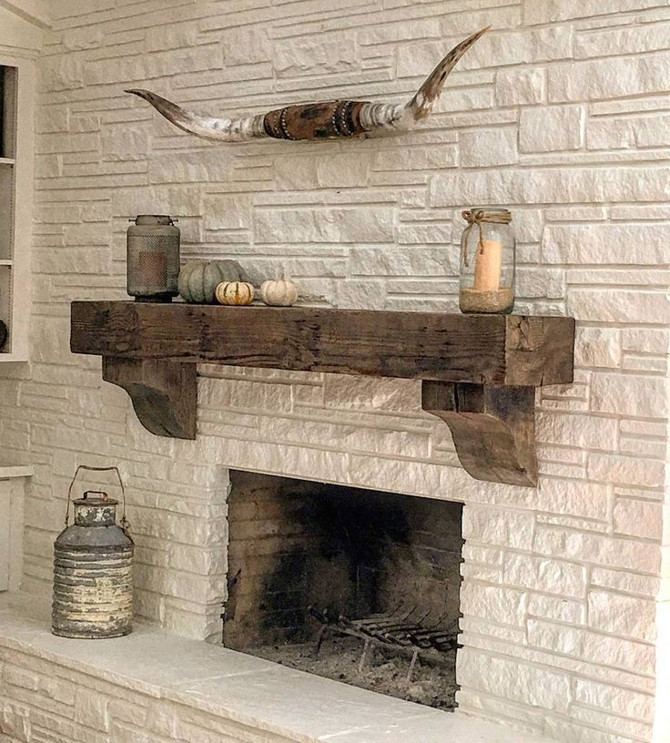 Custom Wood Mantels