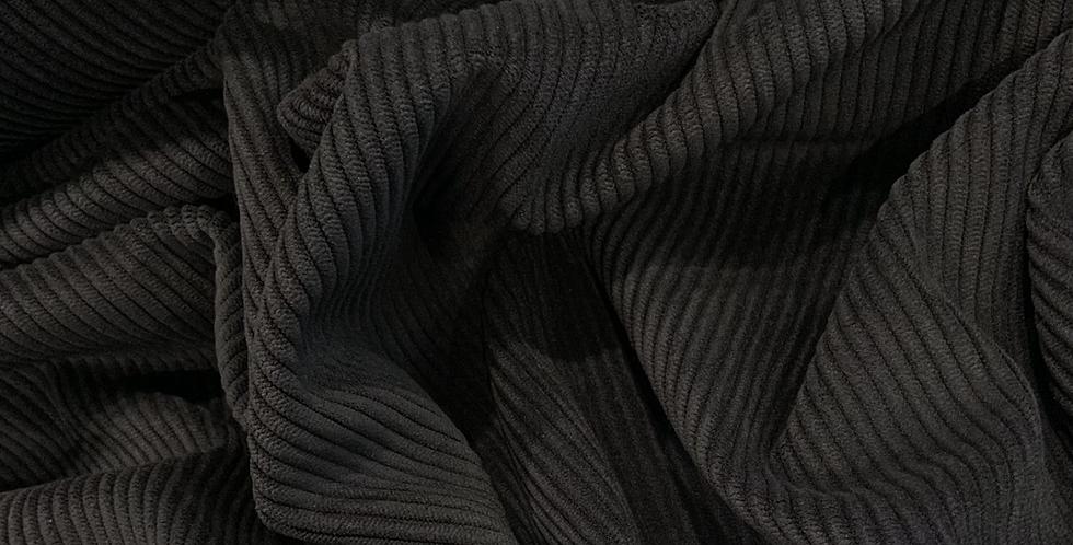 Navy Ultra Soft Stretch Corduroy