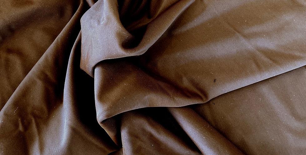 Chocolate matte lycra
