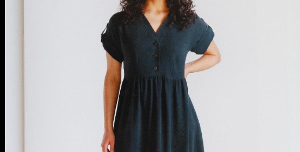 Chalk & Notch Fringe Dress & Blouse Printed Pattern…