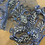 Thumbnail: Jacaranda Hand Dyed Beade Lace Off Cut   #9001