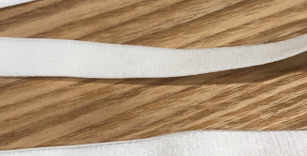 15mm Natural Whote bra strapping