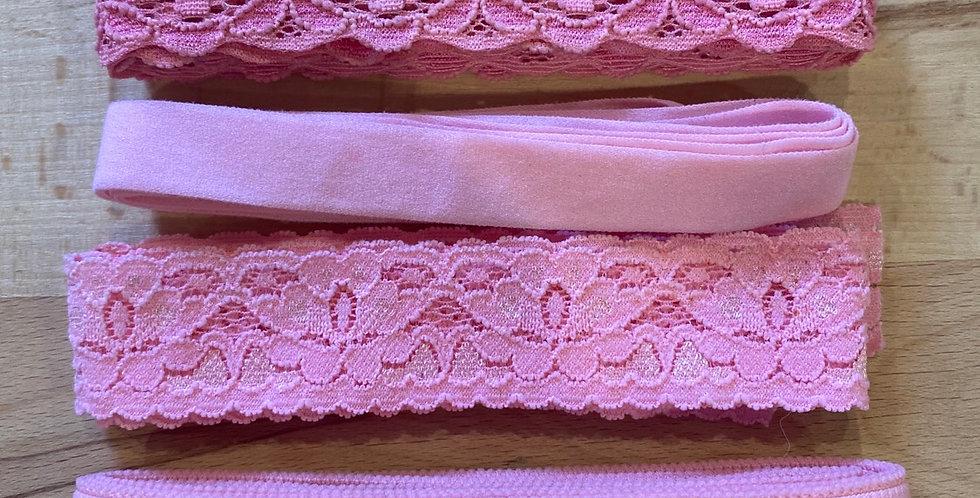 bubblegum pink stretch trim pack