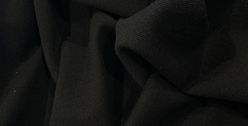 Milan Black Wool Blend Knit...