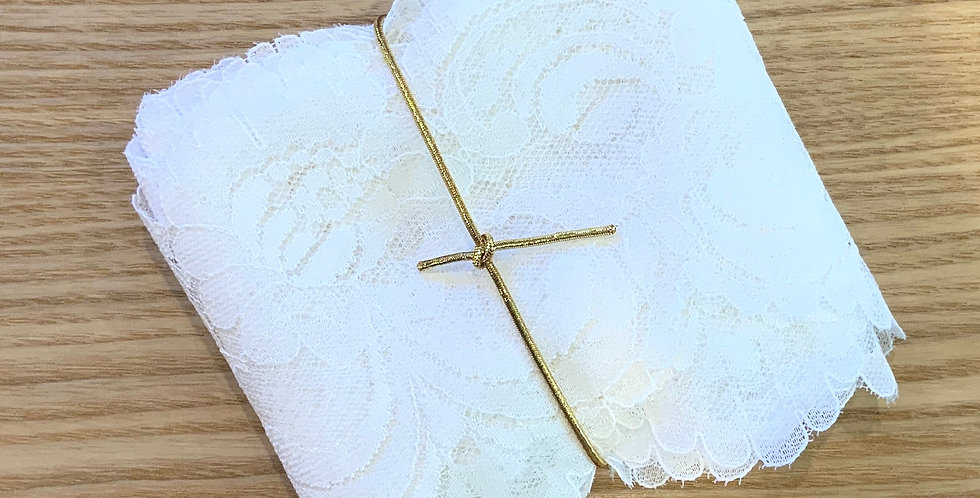 5mtr Bundle French White Scallop Vintage Lace ...