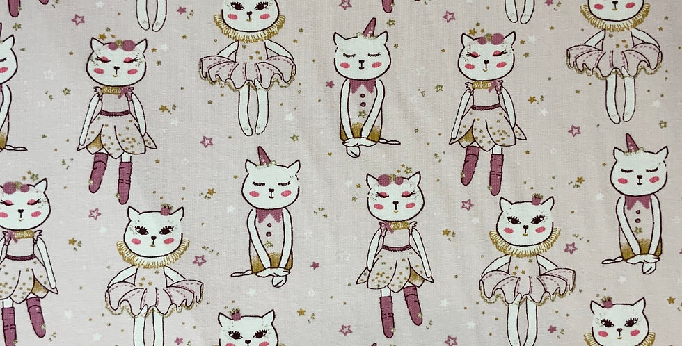 Ballet Kitty Domotex French Cotton Spandex Knit...